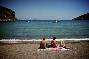 Plage bord de mer 2 - Patmos - 3 îles grecques - Destination, Grèce