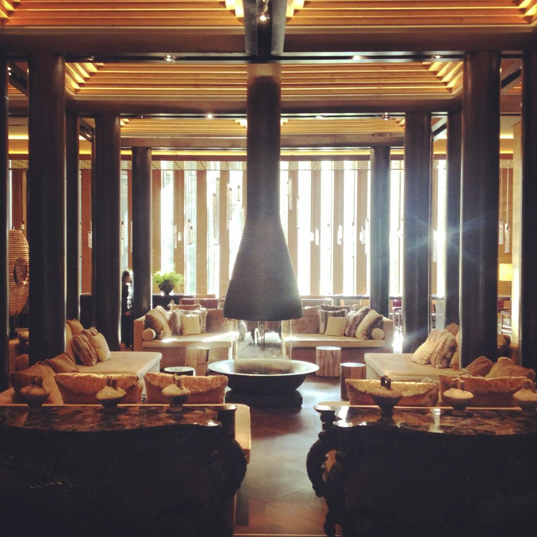 Salle commune, Foyer - Le Chedi Andermatt - Spectaculaire hôtel - Hôtel, Suisse