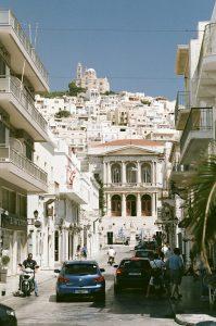 Ville, Architecture - Syros - 3 îles grecques - Destination, Grèce