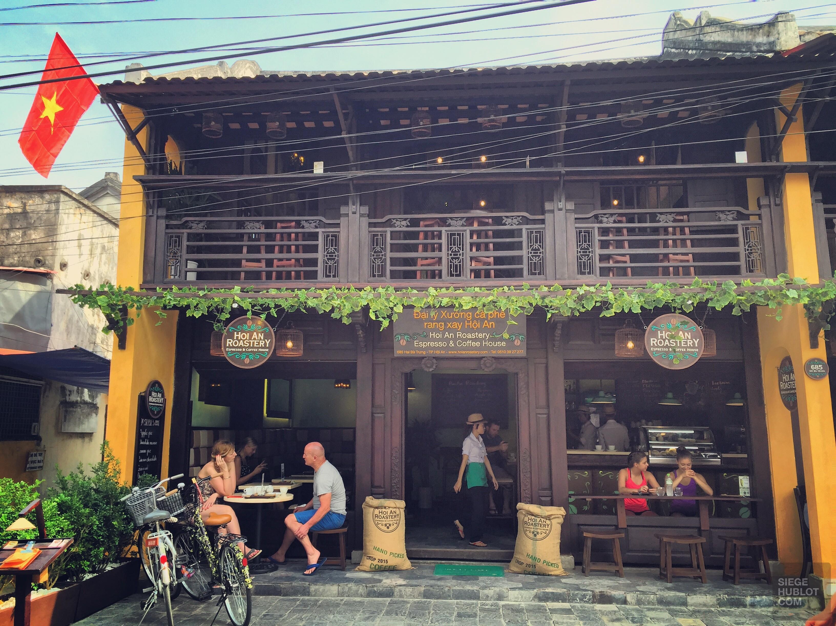 Un café à Hoi An, Viêt Nam - vietnam, cafes-restos, cafes, asie