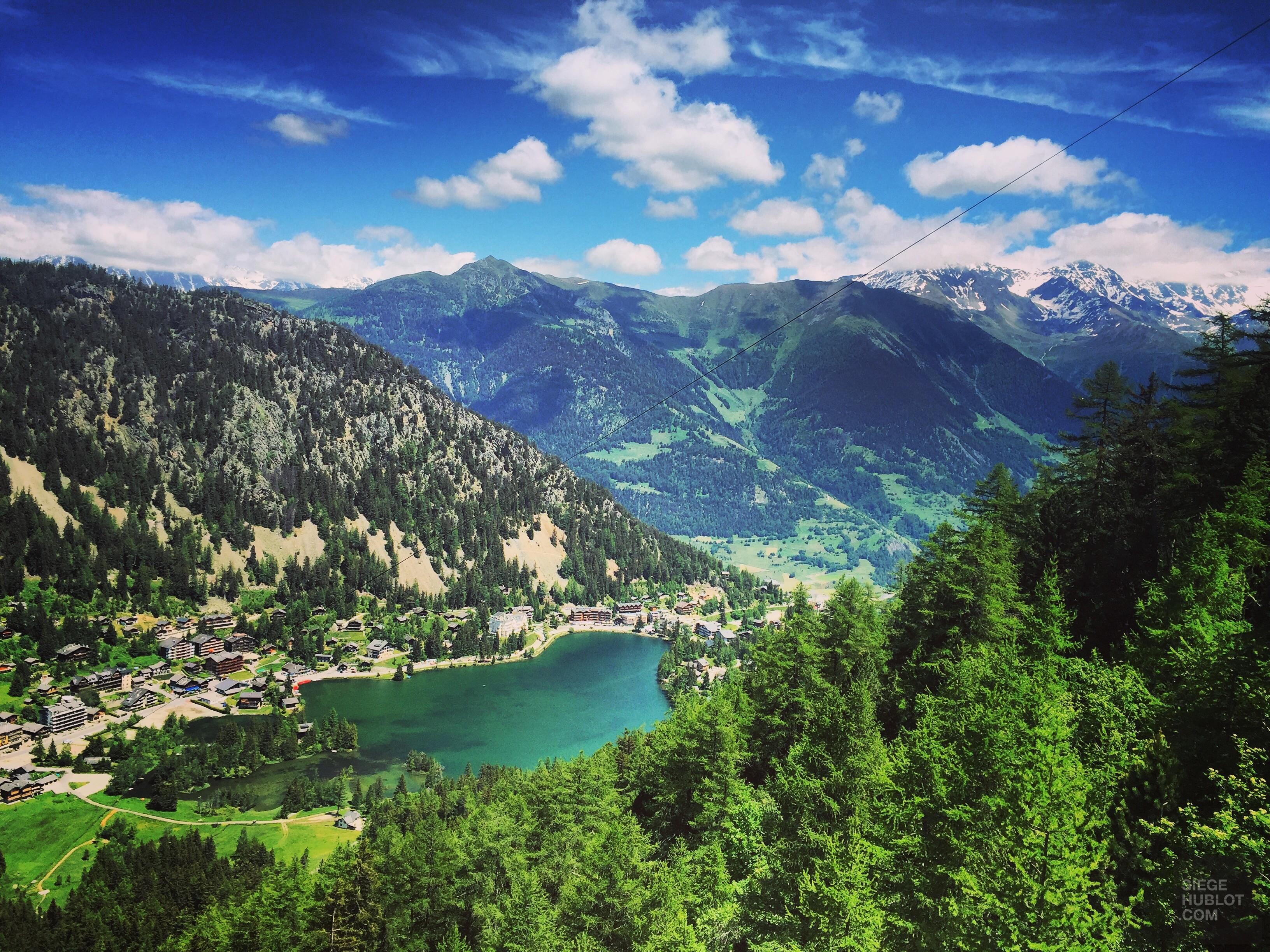 Sous le charme de Champex en Suisse