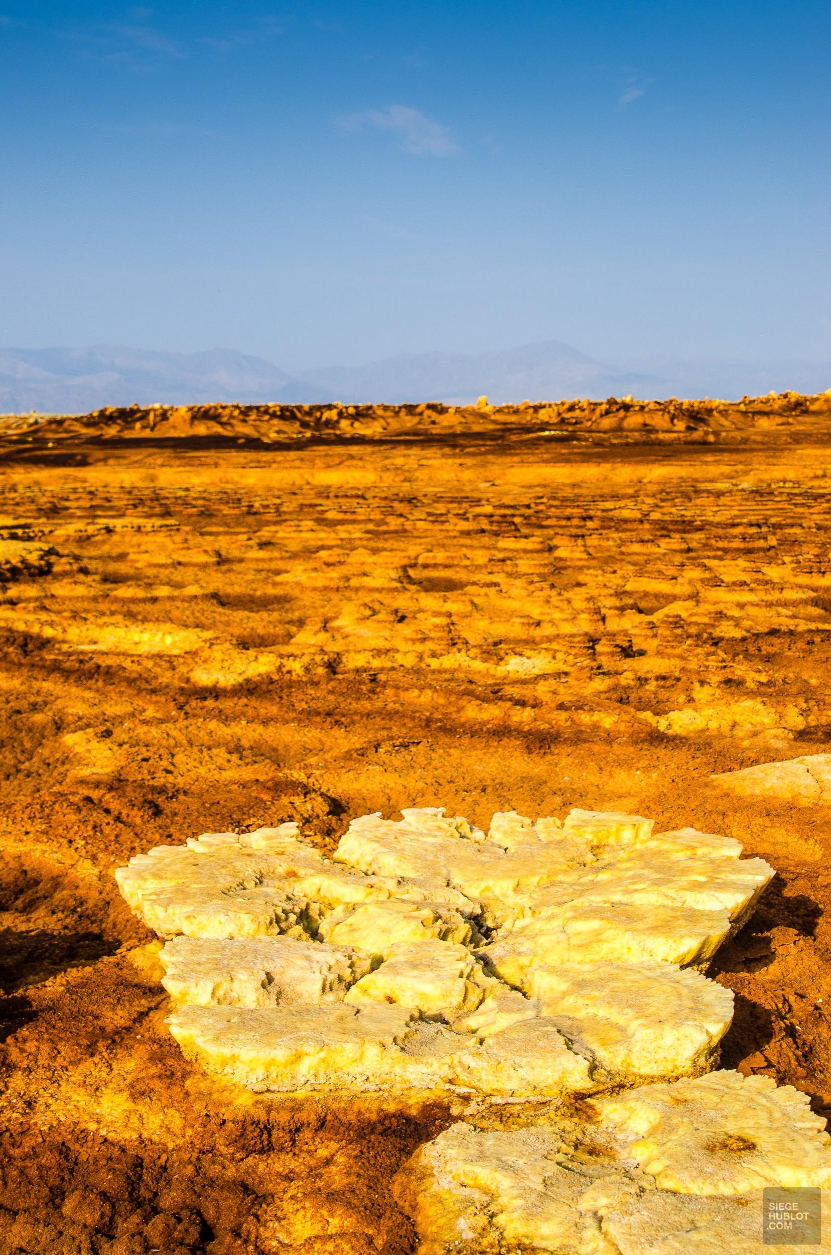 champignon sel - Dallol - Visiter une autre planete: Danakil, Ethiopie - afrique, ethiopie