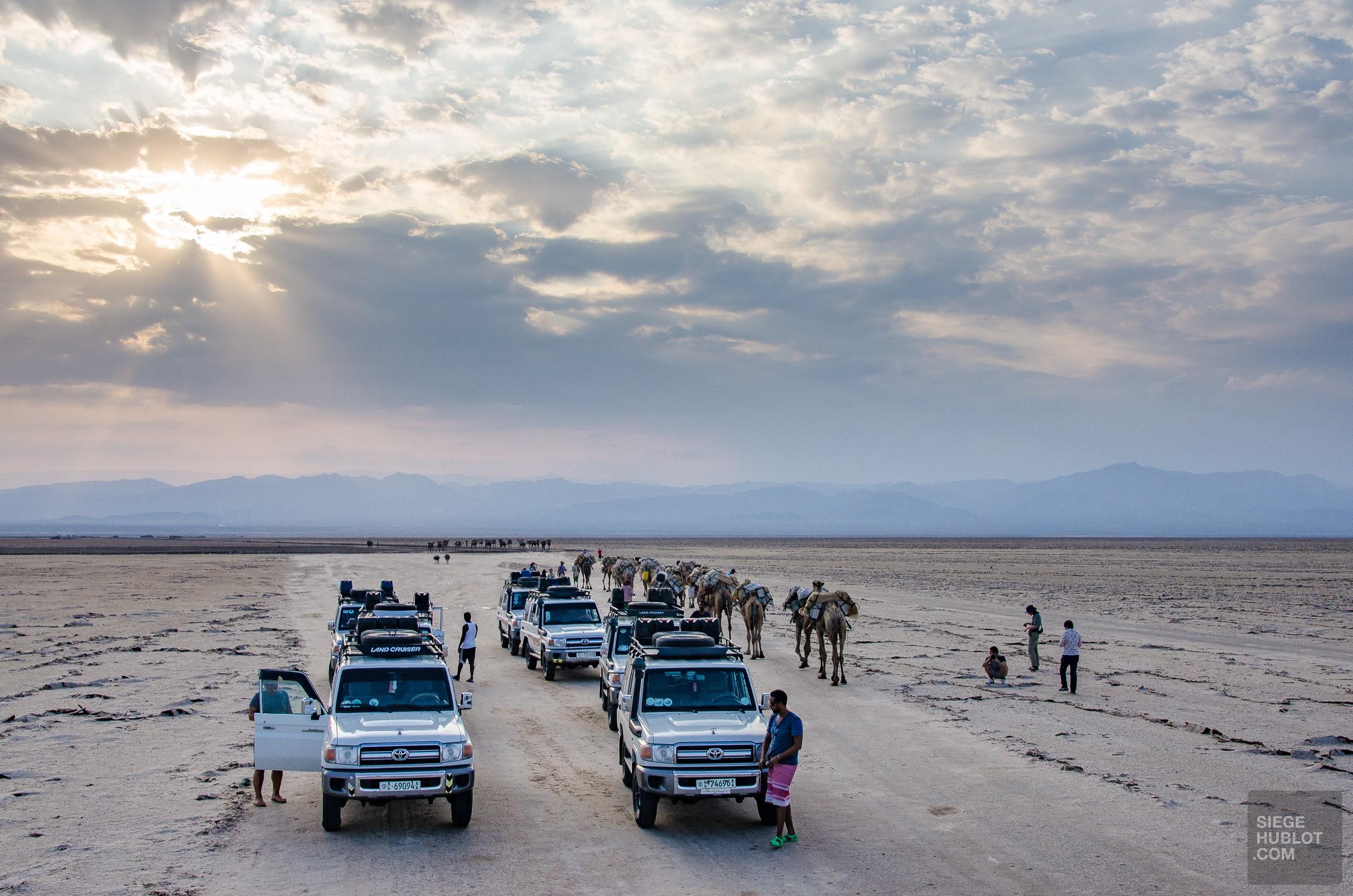 expedition desert sel - Desert de sel - Visiter une autre planete: Danakil, Ethiopie - afrique, ethiopie
