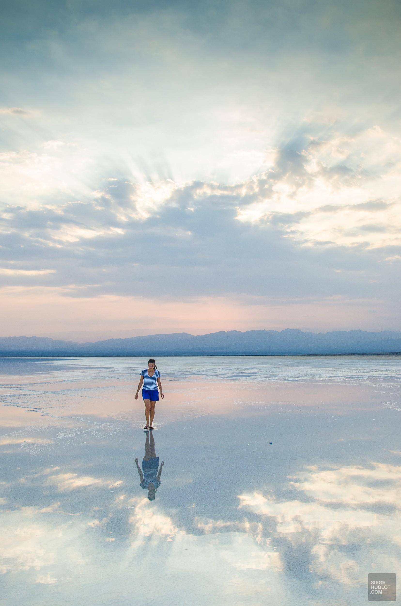 lac de sel filet eau - Desert de sel - Visiter une autre planete: Danakil, Ethiopie - afrique, ethiopie