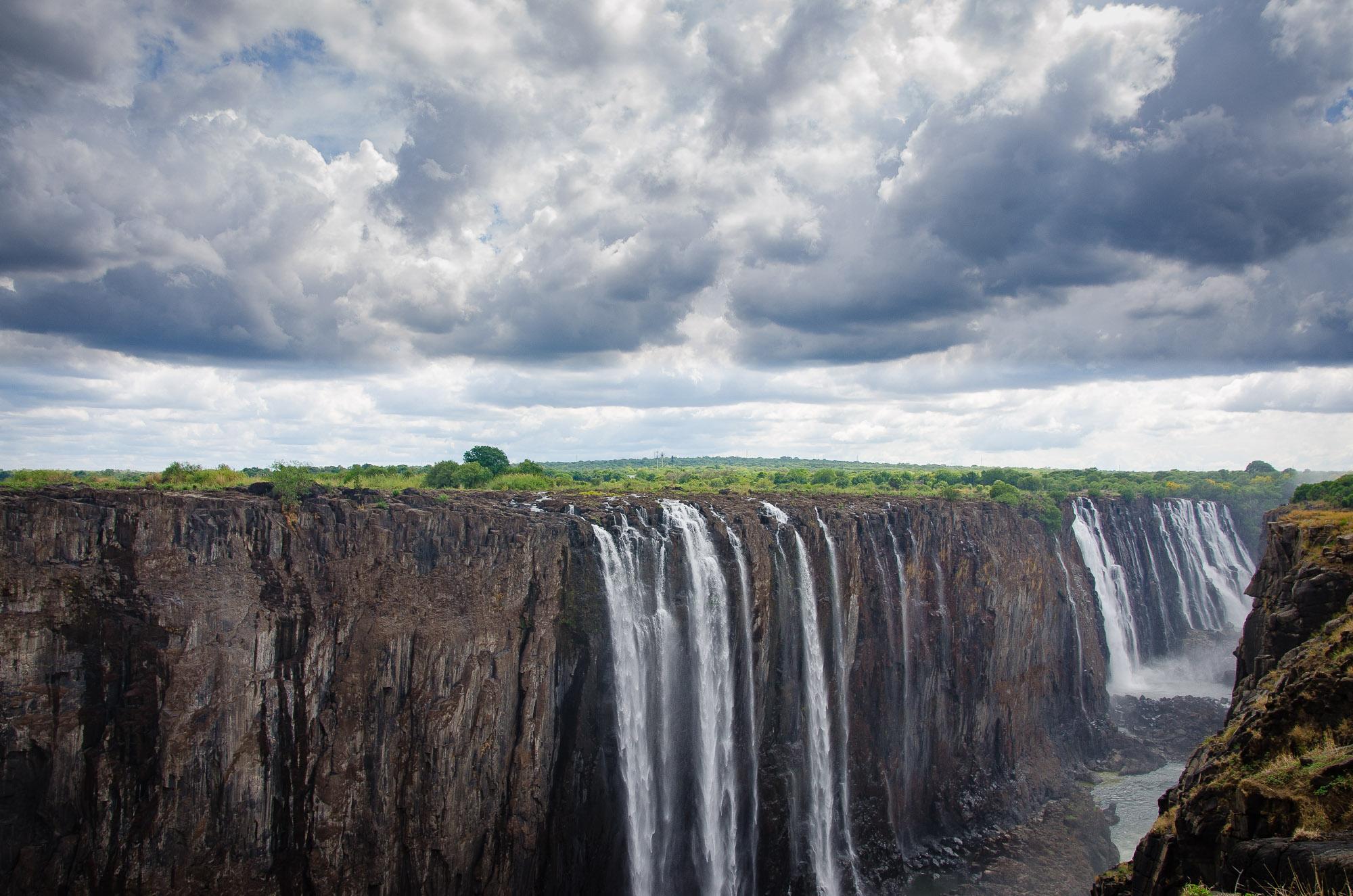 cataracte - les chutes victoria - Zimbabwe, les chutes Victoria et plus encore! - afrique, zimbabwe