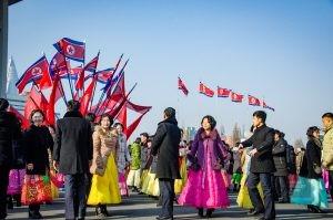danse 3 - celebrations - Coree du Nord, l'envers de la medaille - Asie, Coree du Nord