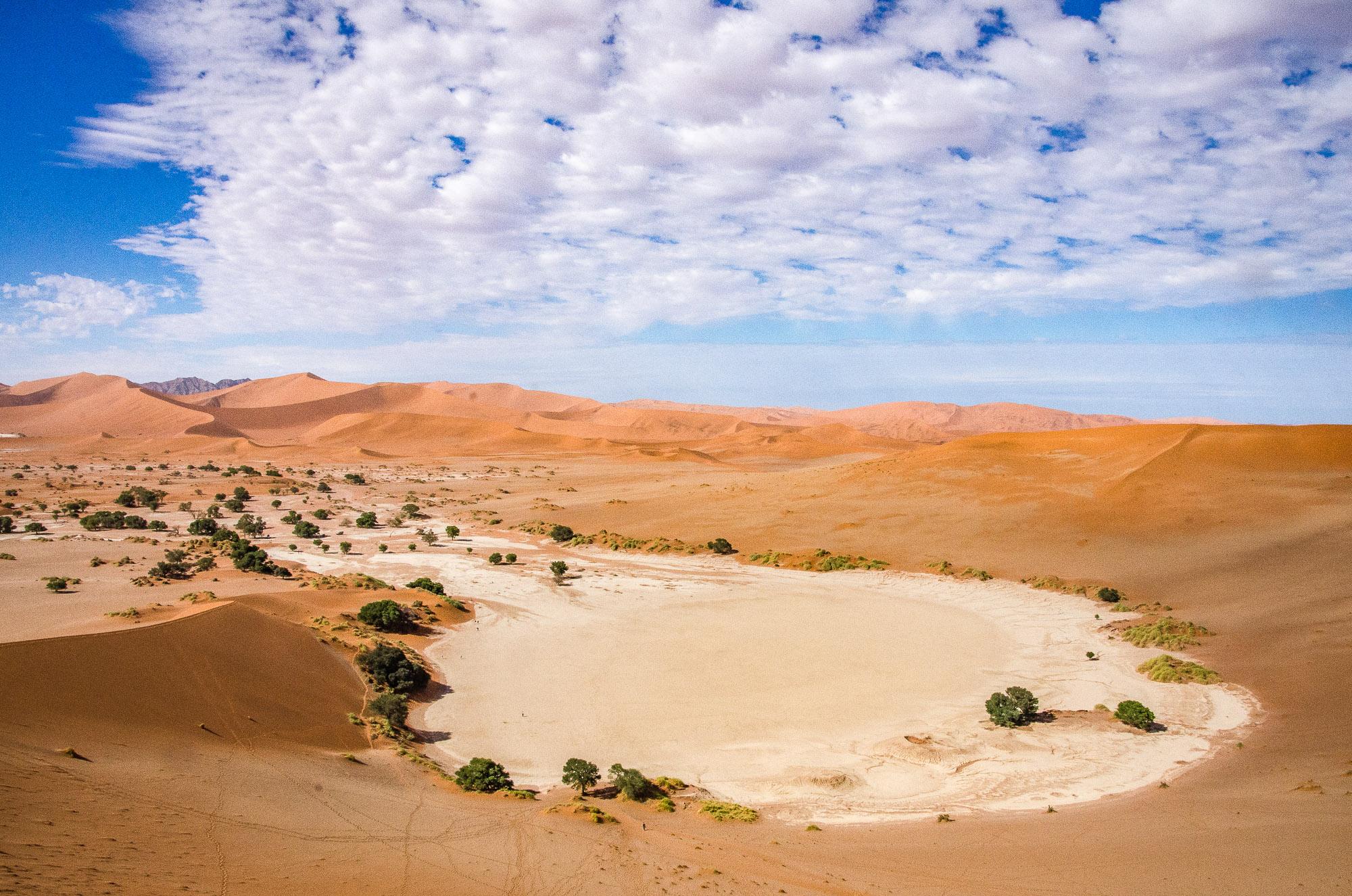 desert de sel namib - sossuvlei - le desert du namibie - afrique, namibie