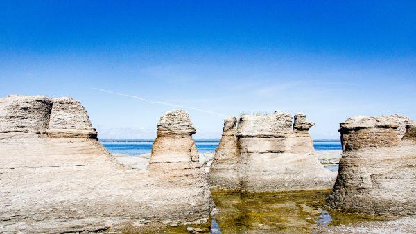 monolithes ile Nue - Escapade l Archipel de Mingan, Cote-Nord, Quebec - Quebec
